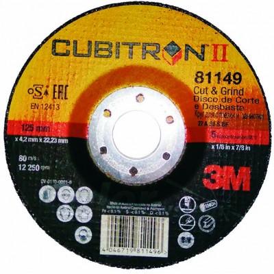 Круг зачистной Cubitron II Cut & Grind