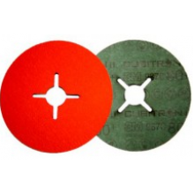 Cubitron® II Фибровый Шлифовальный Круг 987C  Ø125 mm , 125 мм х 22 мм, 80+, № 27650