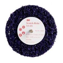 Круг Scotch-Brite XT-ZS S XCS фиолетовый шпиндель 6мм