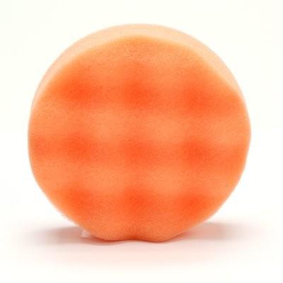 Полировальник 3M Finesse-it рельефный поролоновый оранжевый Ø83мм
