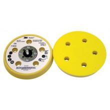 Оправка 3M Hookit Ø125мм х 17.5мм мягкая 5 отверстий LD500A