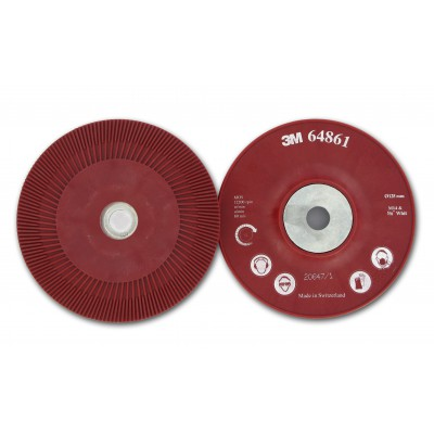 3M™ Оправка для Фибровых Кругов, 125мм х 22 мм, Рeбристая, M14 и 5/8, 1 шт/уп, № 64861