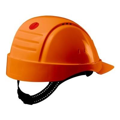 Каска защитная 3M™ PELTOR™ G2000CUV-OR с вентиляцией, цвет оранжевый