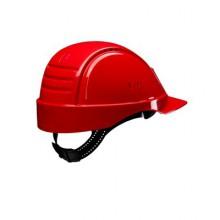 Каска защитная 3M™ PELTOR™ G2001CUV-RD без вентиляции и пластиковым оголовьем, цвет красный