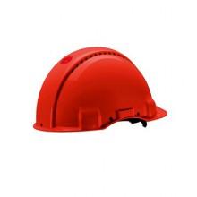 Каска защитная 3M™ G3001CUV-VI без вентиляции, электрически изолированная, цвет красный