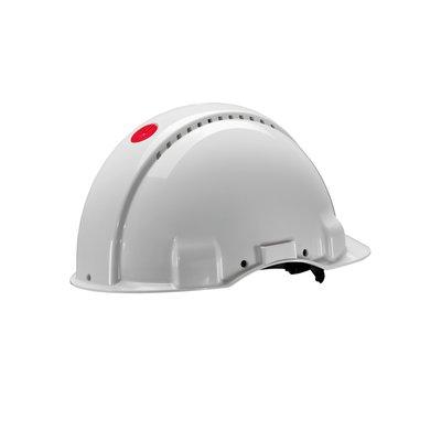 Каска защитная 3M™ G3000CUV-VI c вентиляцией, цвет белый