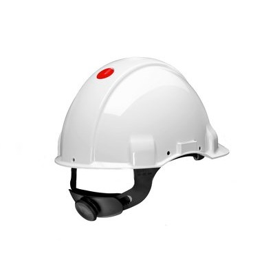 Каска защитная 3M™ G3001CUV-VI без вентиляции, электрически изолированная (440В), цвет белый