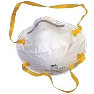 8710Е - фильтрующая полумаска для защиты от аэрозолей 1-й степени защиты без клапана.
