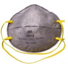 9913P - фильтрующая полумаска для защиты от аэрозолей 1-й степени защиты с дополнительной защитой от органических паров