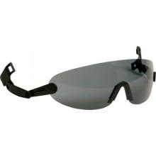 3M™ V6B Очки Открытые из поликарбоната, с креплением на каску, серий G3000, G2000, H700, цвет линз дымчатый
