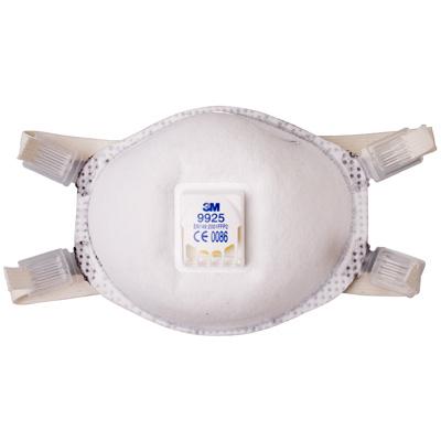 9925 - специализированная фильтрующая полумаска для защиты от пылей, сварочных дымов, озона, органических паров 2-й степени защиты (с клапаном выдоха)