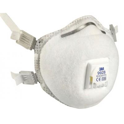 9928 - специализированная фильтрующая полумаска для защиты от пылей, сварочных дымов, озона, органических паров 2-й степени защиты (с клапаном выдоха)