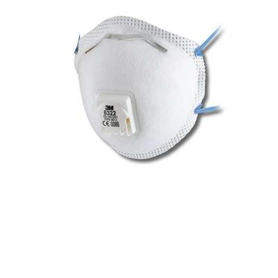 8322 - фильтрующая полумаска 2-й степени защиты с клапаном выдоха