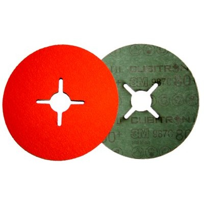 Cubitron® II Фибровый Шлифовальный Круг 987C, 125 мм х 22 мм, 36+, № 27618